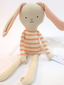 small coral stripe bunny