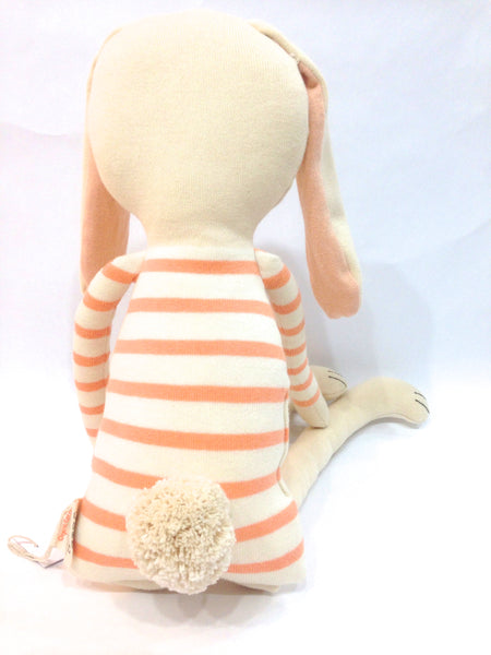large coral stripe bunny