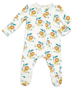 Lion King Zipper Footie