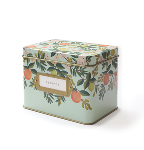 Citrus Garden Recipe Box