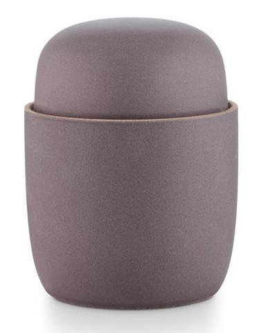 Illume Lidded Ceramic Cypress+Lavender Candle
