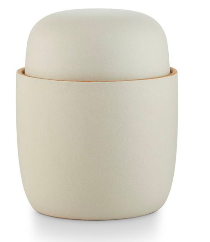 Illume Lidded Ceramic Vetiver+Sage Candle