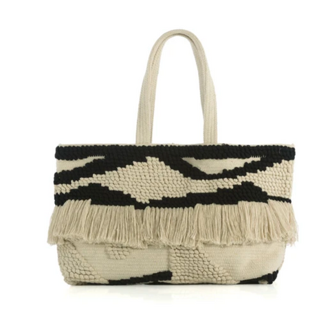 Chantal Black Tote