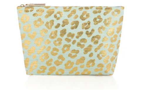 Ripley Zip Pouch Turquoise