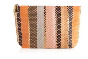Milly Zip Pouch Coral