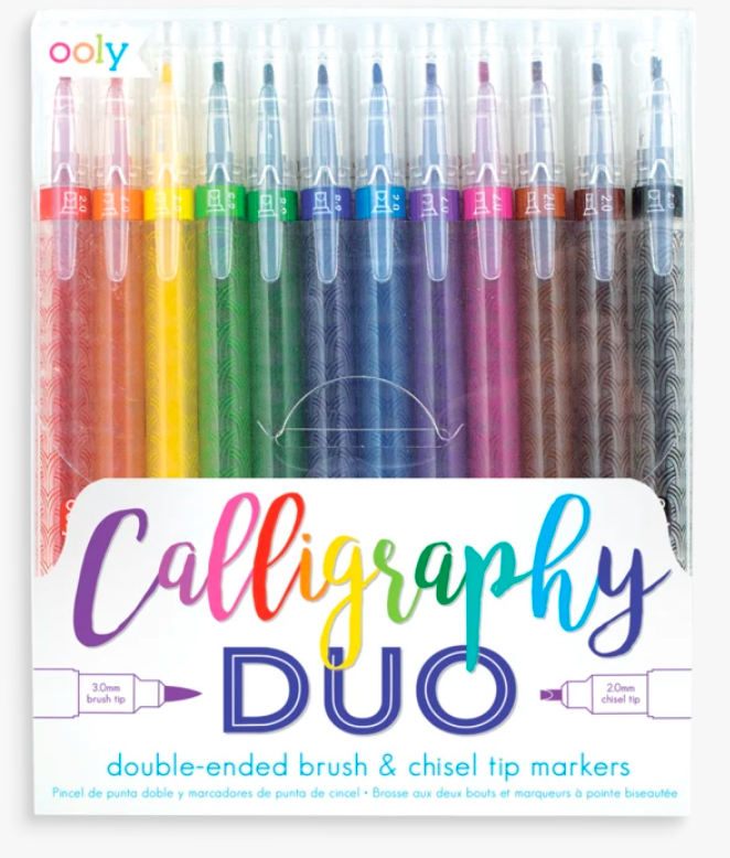 Calligraphy Duo Markers