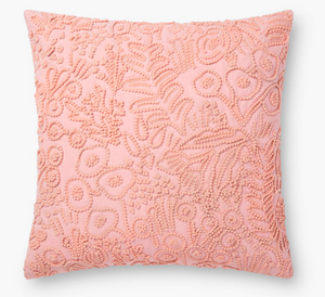 Rifle Tapestry Embroidered Pillow-Rose