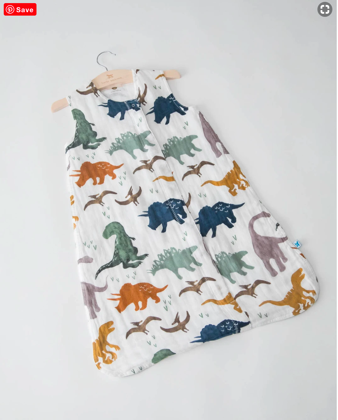 Little Unicorn Sleep Sack-Dino Friends