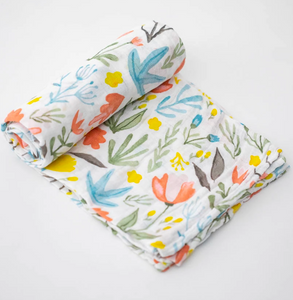 Little Unicorn Swaddle-Meadow