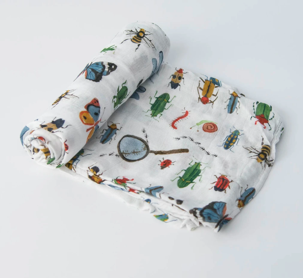 Little Unicorn Swaddle-Bugs
