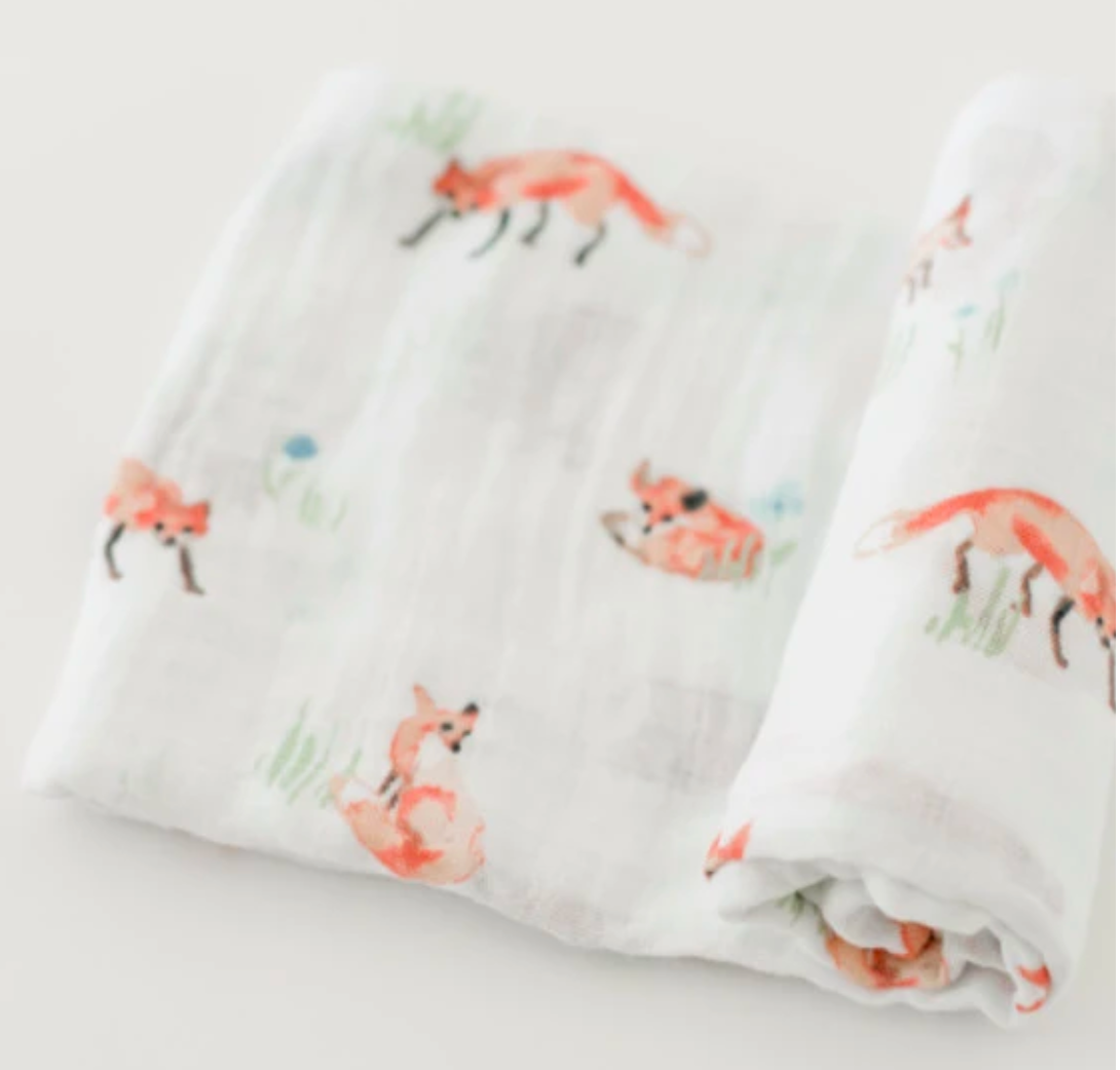 Little Unicorn Swaddle-Fox
