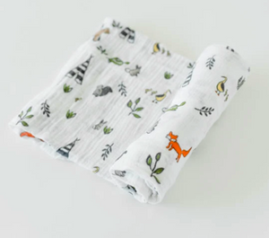 Little Unicorn Swaddle-Forest Friends
