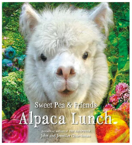 Alpaca Lunch-Sweet Pea and Friends
