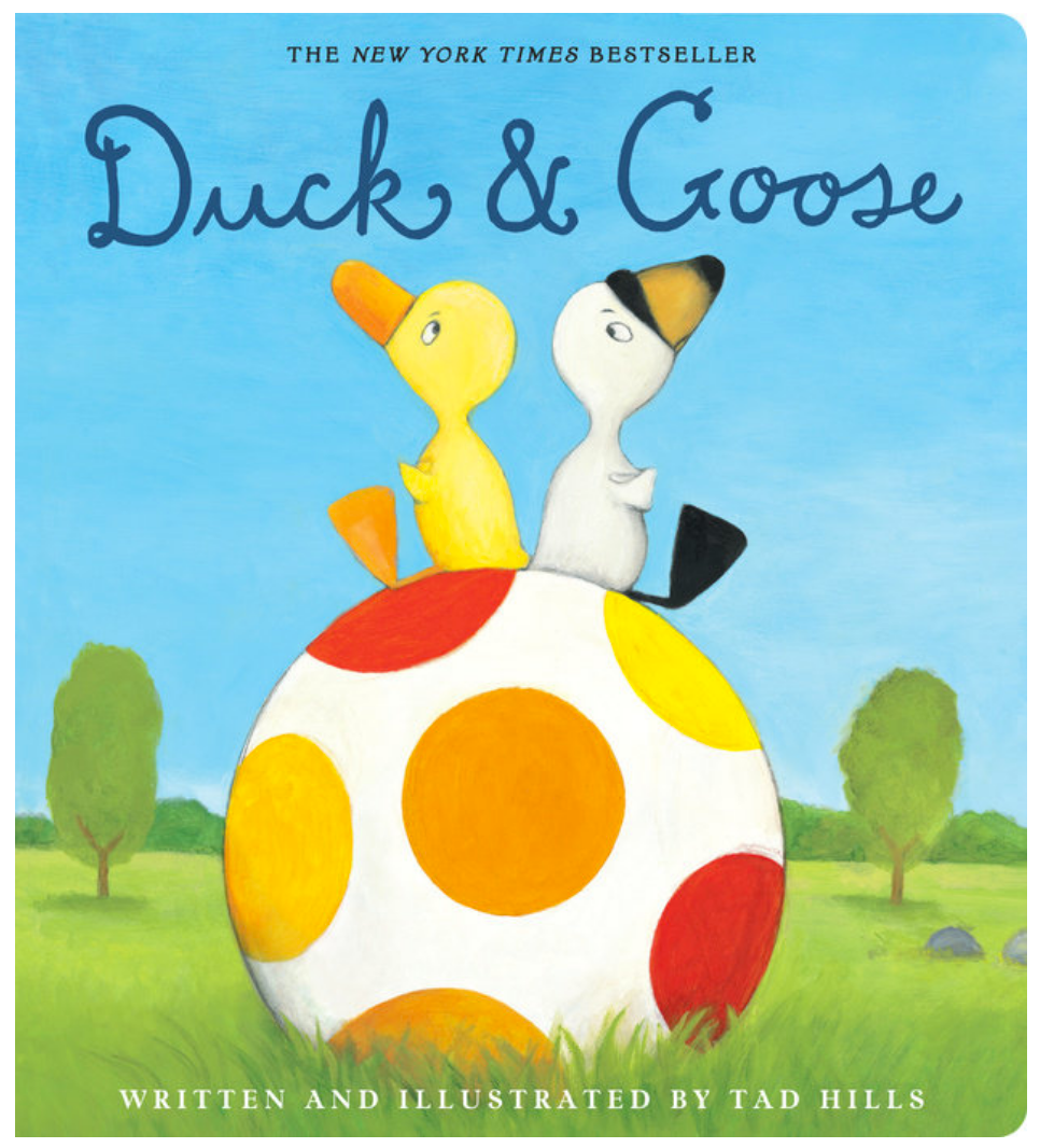 Duck and Goose Board Book
