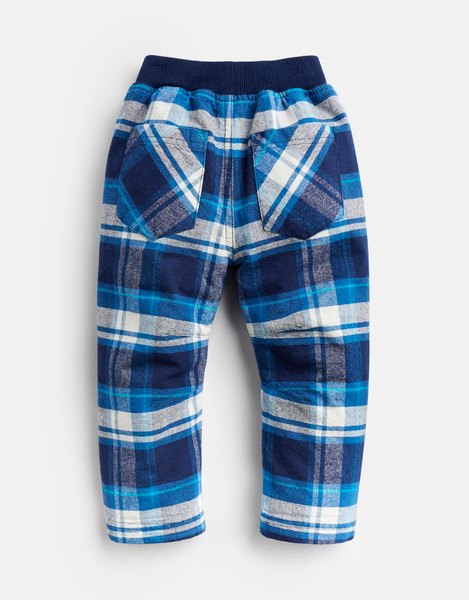 Joe Woven Check Trouser