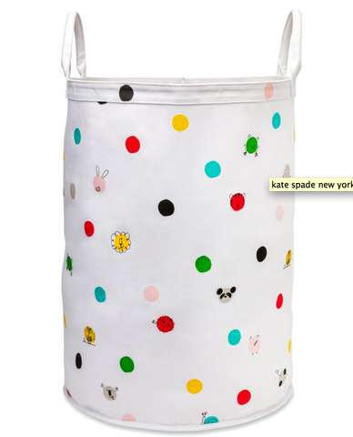 hey baby canvas bin