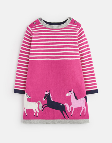 Millicent Knitted Horse Dress