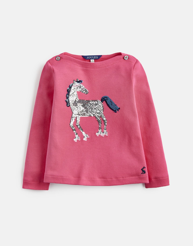 Esme Sequin Horse Top