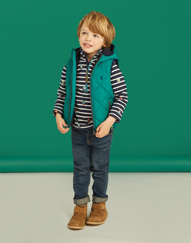 Jonah Polar Fleece Lined Quilted Vest