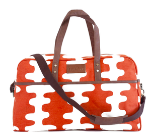 Echo Tangerine Duffel Bag