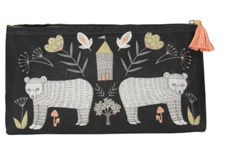 Wild Tale Large Cosmetic Bag