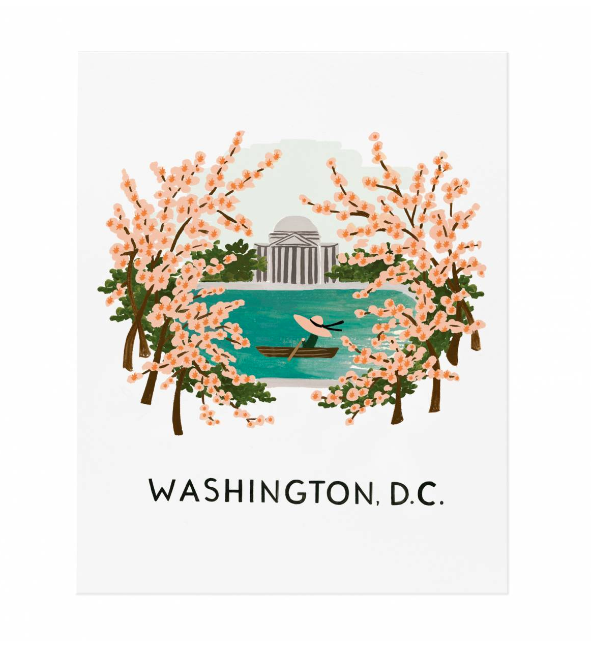 Washington DC Art Print