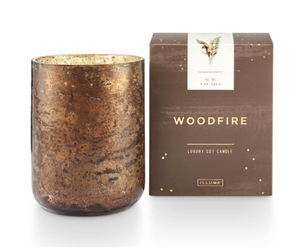 Woodfire Small Luxe Candle