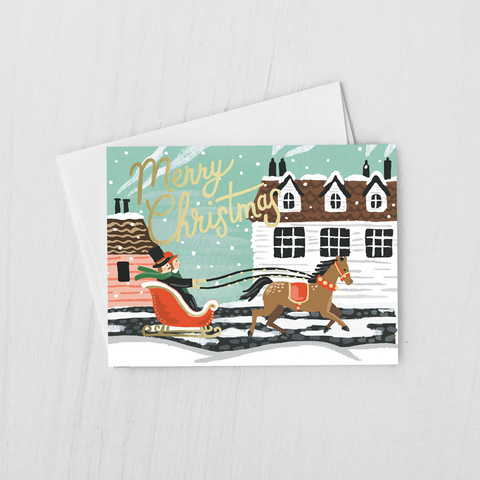 Sleigh Ride Holiday Cards