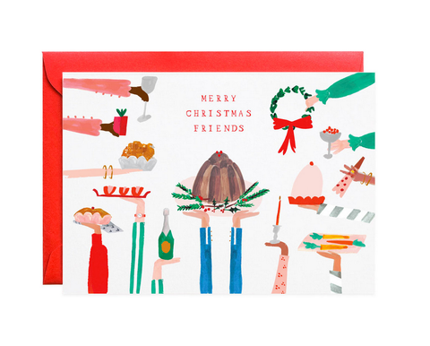 Figgy Pudding Holiday Cards