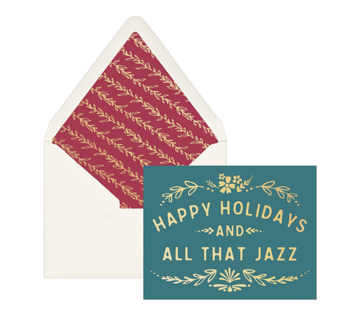All that Jazz Holiday Cards