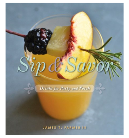 Sip & Savor Cocktail Book