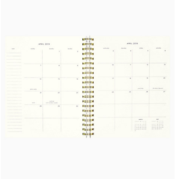 Kate Spade Large Gold Planner