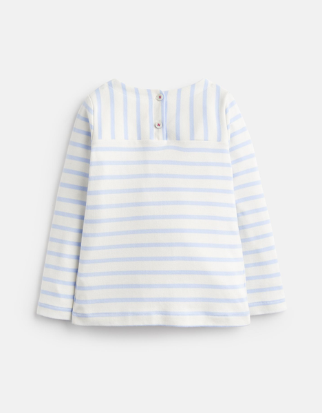 Lianne Striped Jersey Shirt