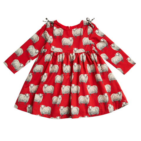 Red Sheep Dress