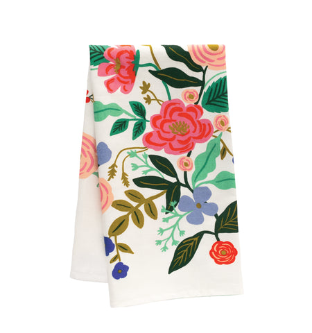 Floral Vine Tea Towel