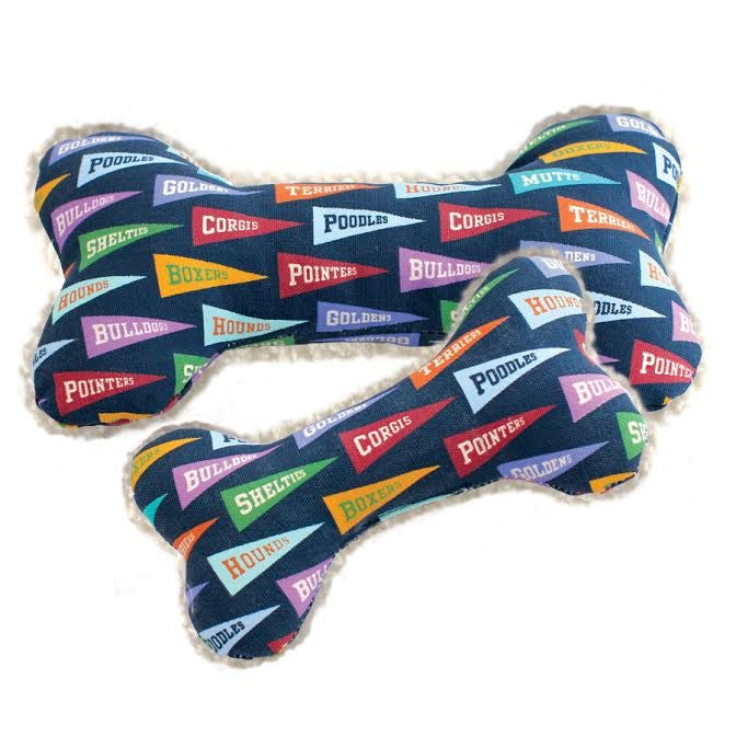 Harry Barker Pennant Flags Dog Toy