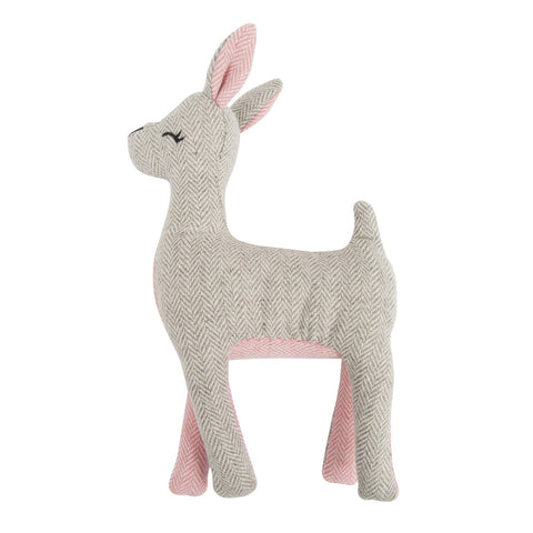 Harry Barker Heeringbone Deer Plush Toy