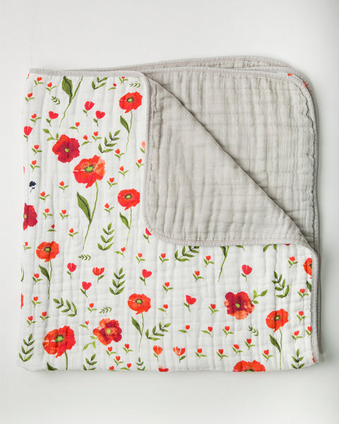 Cotton Quilt - Poppy