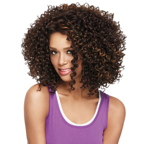 Fashion Personalized Fiber Curly Hair Wig Headgear
