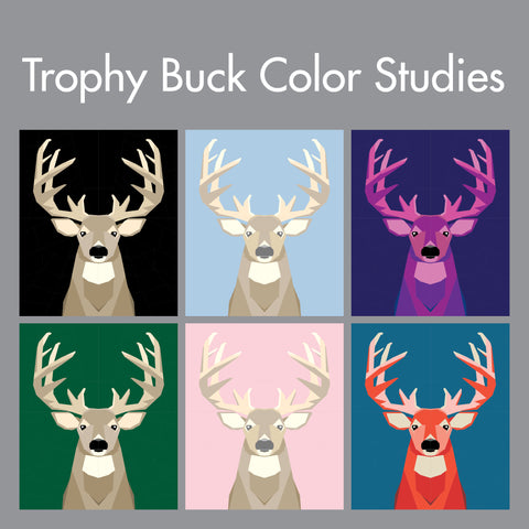 Trophy Buck Color Studies