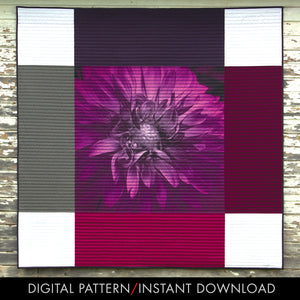 bloom series wall hanging free PDF pattern instant download