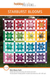 front cover of Starburst Blooms quilt pattern