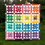 Starburst Blooms full quilt