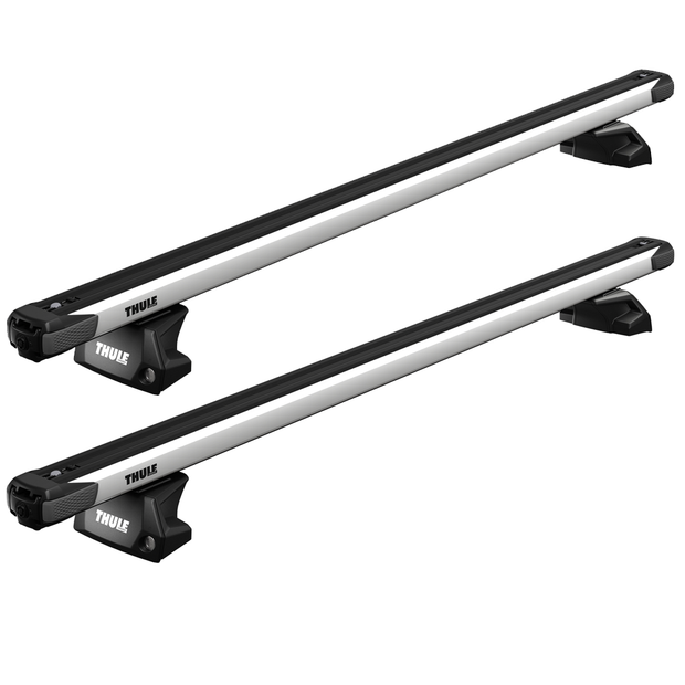 THULE Roof Bar Kit For HYUNDAI Santa Fe 5-Door SUV 13-18 With Flush Rails (SLIDEBAR)