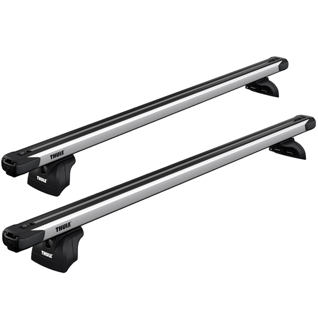 THULE Roof Rack For SUBARU XV 5-Door SUV 2017- With Fixed Points (SLIDEBAR)
