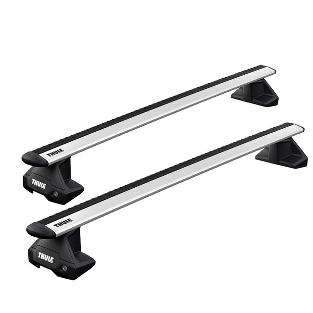 Option B - THULE Roof Rack For FIAT Grande Punto 5-Door Hatchback 2005-2012 with Normal Roof (WINGBAR EVO)