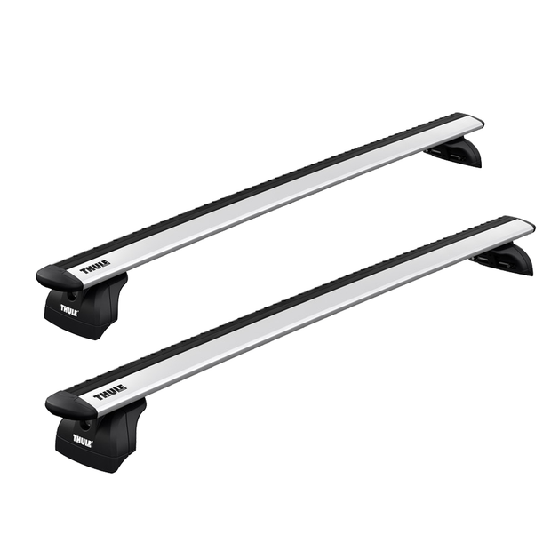 Option B - THULE Roof Rack For FIAT Fiorino 3-Door Van 2008- with Fixed Points (WINGBAR EVO)