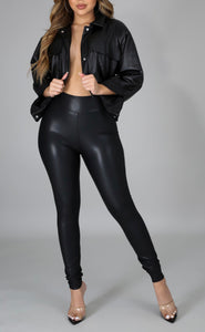 Janet Leather Pants