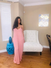 Load image into Gallery viewer, Striped tunic maxi