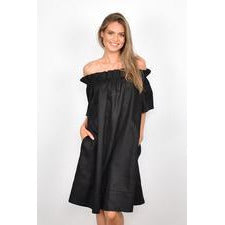 Maddie Off Shoulder Short Dress (4865372651574)